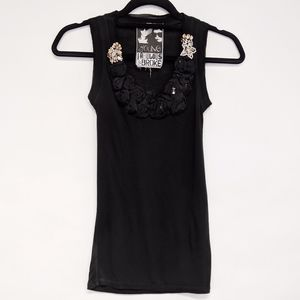 Young Fabulous & Broke Tops - young fabulous & broke | embellished tank top XS